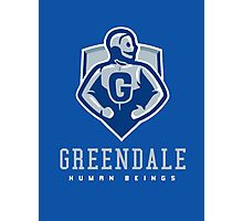 Greendale Human Beings Photographic Print
