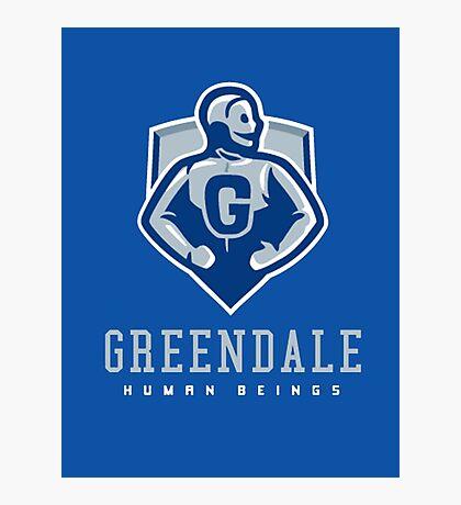 Greendale Human Beings Photographic Print