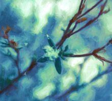 Painted Spring Blossom Sticker