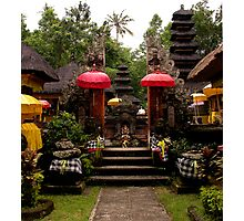 Campuan Temple, Ubud, Bali Photographic Print