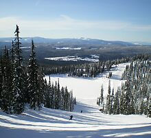 Big White Ski Resort, Canada by Tim Robson