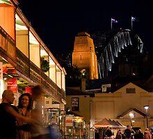 Playfair Lane, The Rocks, Sydney, NSW, Australia by kwill