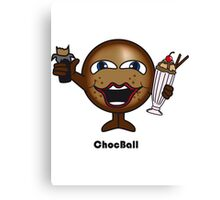 Choc Ball Canvas Print