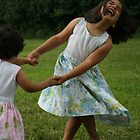 Playing with my sister by Ghelly
