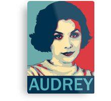 Audrey Horne - Twin Peaks Metal Print