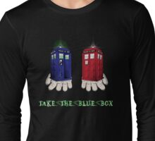 Take The Blue Box Long Sleeve T-Shirt