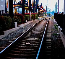 Seattle train tracks by Gavistaloch