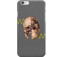 sick sine skull iPhone Case/Skin
