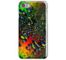 Waterdrops - Rainbow Colors II iPhone Case/Skin