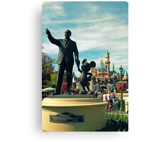 Happiest Place on Earth  Canvas Print