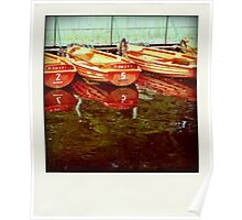 Boats... Poster