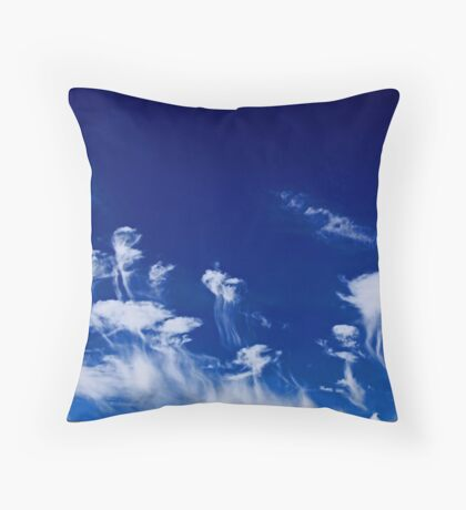 Jellies In The Southern Sky Throw Pillow