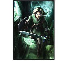 Link - Zelda Photographic Print