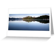 Lake Derwent Greeting Card