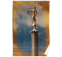 Provo LDS Temple - Angel Moroni Poster