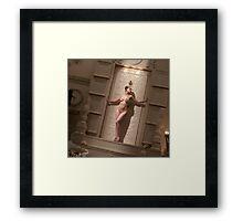 Queen of the Night for Duvet Cover Framed Print