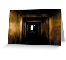 The Only Way Out... Greeting Card