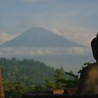 Buddha Contemplates Sumbing by charlienelson