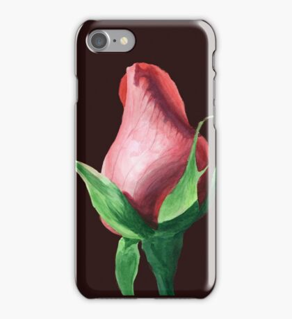 Pink Rosebud iPhone Case/Skin
