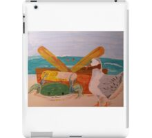 Crab and Seagull Party iPad Case/Skin