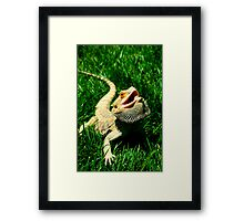 Modern Dragon Framed Print