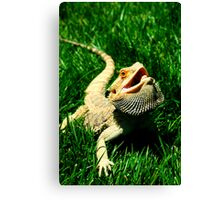 Modern Dragon Canvas Print