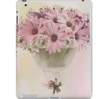 Pink Osteospernum Flowers iPad Case/Skin