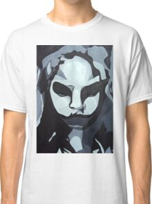Sinister Zombie- Zombie Girl Painting  Classic T-Shirt
