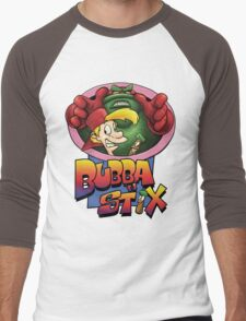 Bubba n Stix! Men's Baseball ¾ T-Shirt