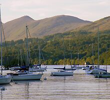The Lake District: Cruising on Lake Windermere by Rob Parsons