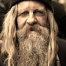 Weathered Man  by Chris  Brookes