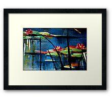 Mum's Monet Framed Print
