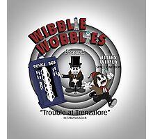 Wibblie Wobblies - Trouble at Trenzalore Photographic Print