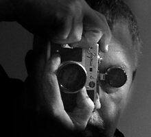 self portrait w/zorki by dennis william gaylor