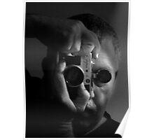 self portrait w/zorki Poster