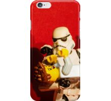 Looking after baby iPhone Case/Skin