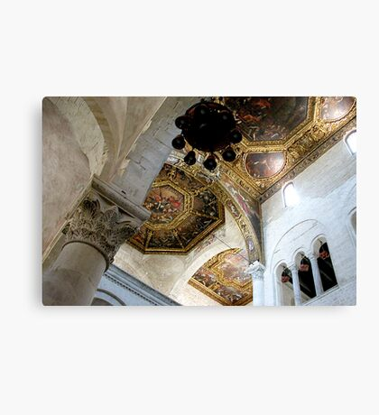 Basilica of Saint Nicholas Canvas Print