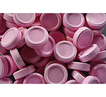 pink lollies Photographic Print