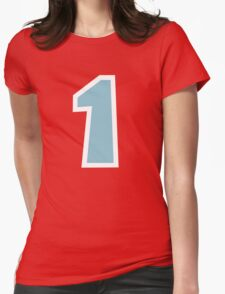 Villager is Number One Womens Fitted T-Shirt