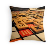 Playing Games 2 Throw Pillow
