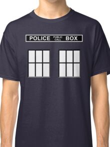 Police Public Call Box - Tardis  Classic T-Shirt