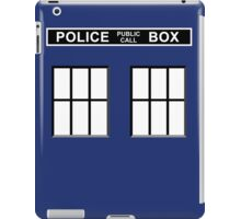 Police Public Call Box - Tardis  iPad Case/Skin