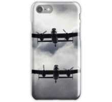 A Pair of AVRO Lancasters iPhone Case/Skin