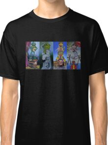 Muppets Haunted Mansion Stretching Room Portraits Classic T-Shirt