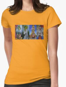 Muppets Haunted Mansion Stretching Room Portraits Womens T-Shirt