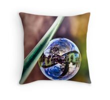 ...space-time... Throw Pillow