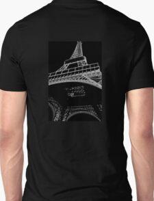 Digital Eiffel Unisex T-Shirt