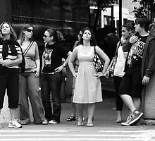 Waiting to Cross by Ursula Rodgers