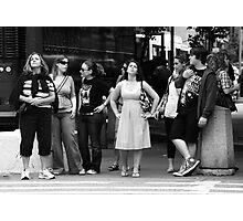 Waiting to Cross Photographic Print