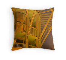 Golden Arches Throw Pillow